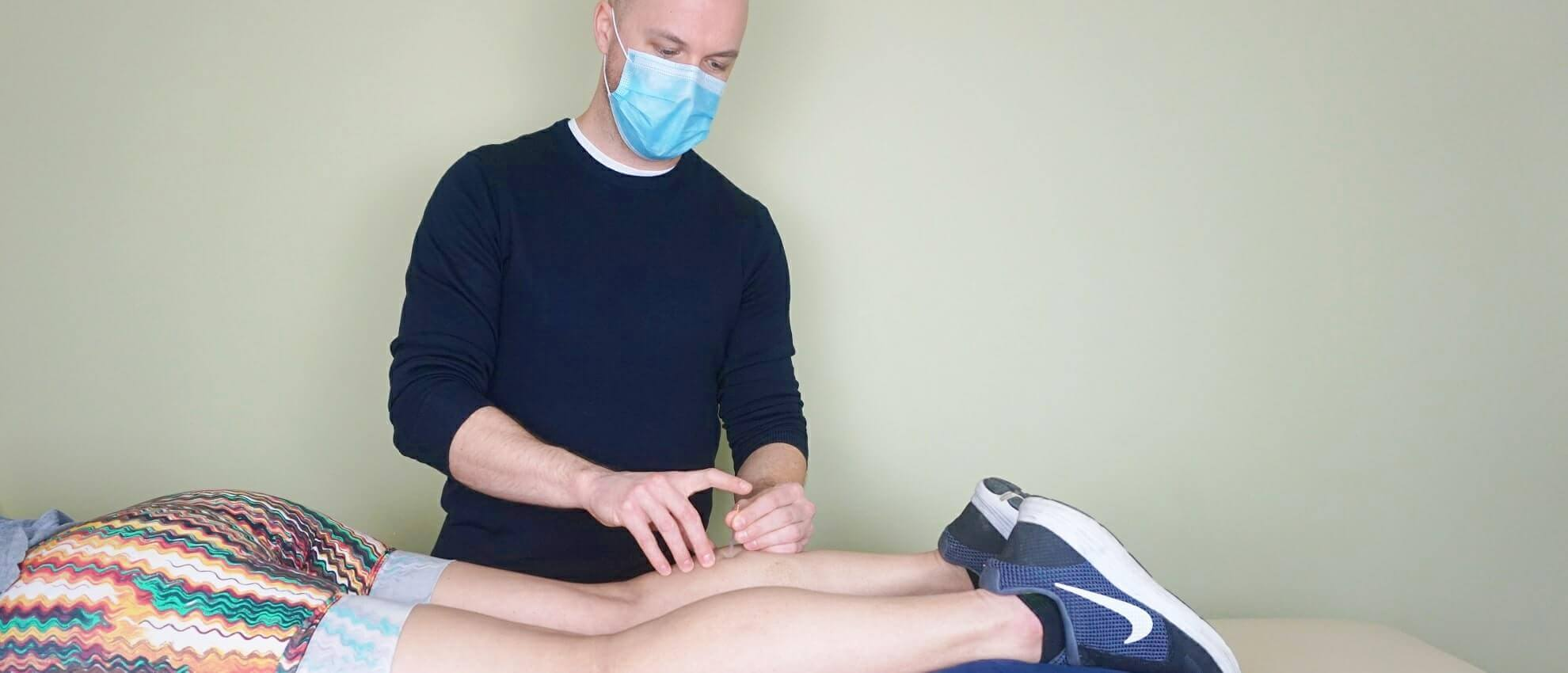 Ankle osteopathy
